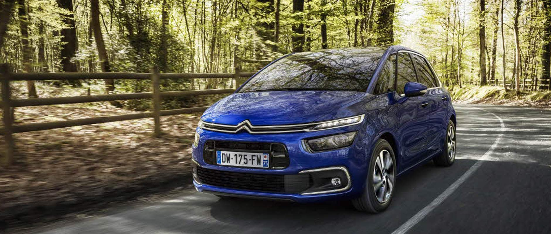C4 Picasso ACTIVE LANE DEPARTURE WARNING SYSTEM
